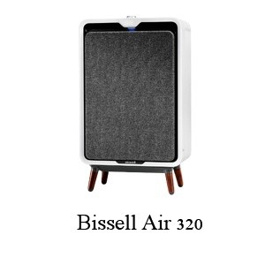 Bissell air320 – Best 1000 sqft Air Purifier in 2021