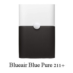 Blueair Blue Pure 211+ - Best Air Purifier with Permanent Filter Including Particle Filter and Carbon Filter