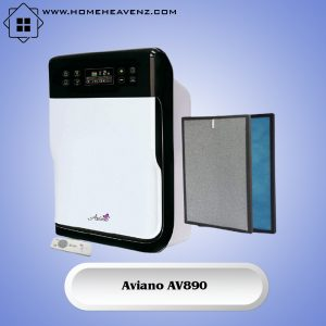 Aviano AV890 –7 Stages Air Filtration System Best for Pets Allergies Smoke and Odors