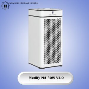 Medify Air MA-40-W –Dual Filters Including H13 True HEPA Filter with Wide Coverage