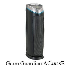 Germ Guardian AC4825E –Best Bathroom Air Purifier Eliminates Germs, Allergies, and Mold