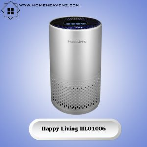 Happy Living HL01006 –360 Degree Air Purification System for Seasonal Allergies Smokers and Bacteria