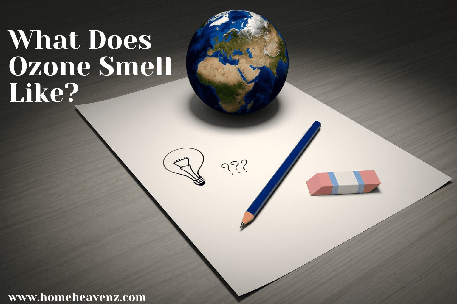 What Does Ozone Smell Like