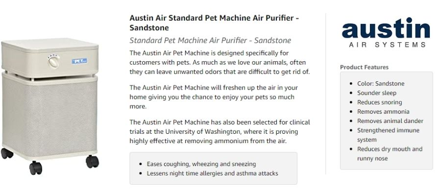Austin Air Pet Machine