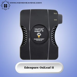 EdenPURE OxiLeaf II Thunderstorm–Compact and Portable Plug-in Design with Oxi-Technology for Killing Germs