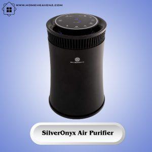 SilverOnyx Air Purifier – Quiet Odor Eliminator and Allergen Remover